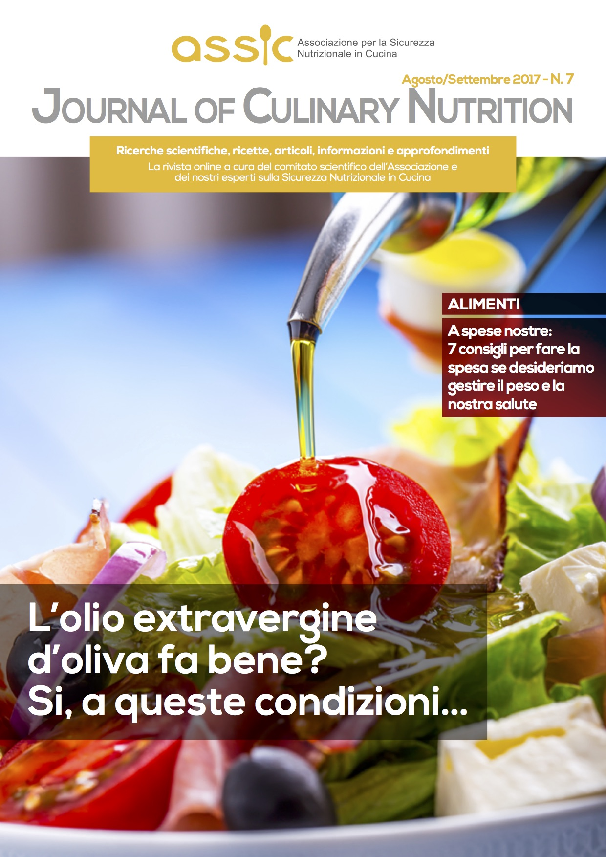 Journal of Culinary Nutrition -Numero 7- Agosto:Settembre